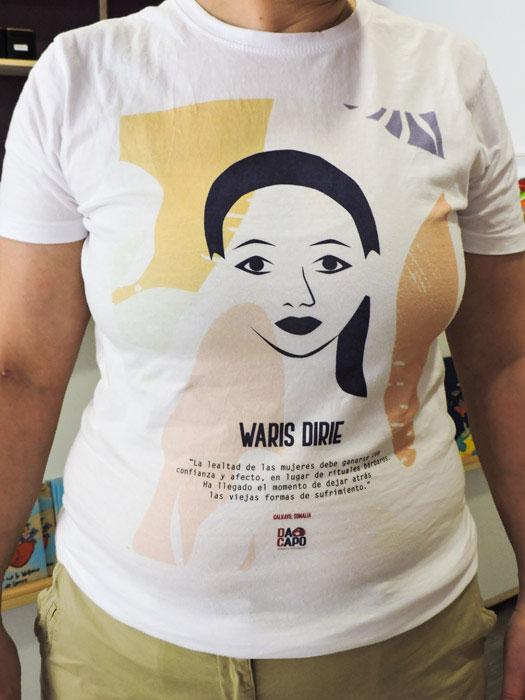 Dacapo-Camiseta-solidaria-Waris-Dirie